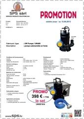 promo pompe a eau uw400 sps lu fax
