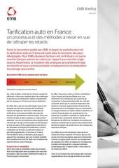 tarification auto en france