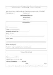 bulletin d inscription event geocaching