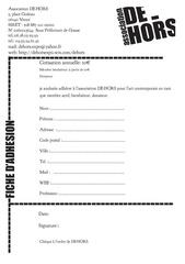 Fichier PDF fiche adhesion 2013