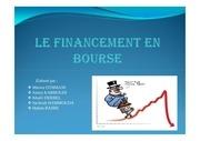 financement en bourse