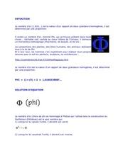 Fichier PDF le nombre d or