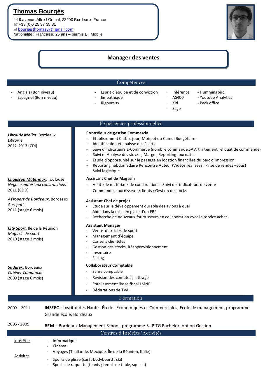 cv mv doc par thomas - cv mv pdf