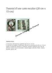 Fichier PDF tiutoriel d une carte escalier 20 x 15