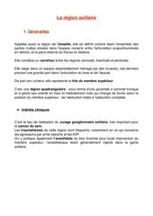 region axillaire pdf