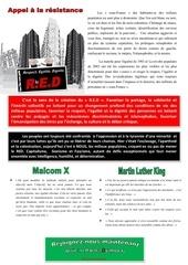 Fichier PDF appel au red