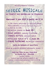 flyer soiree 5 juin 2013