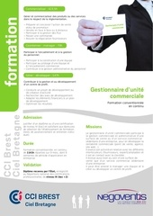 formation gestion unite commercial continue