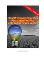 Fichier PDF 10 secret pour etre creatif