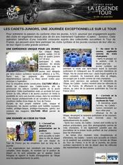 plaquette cadets juniors 2013