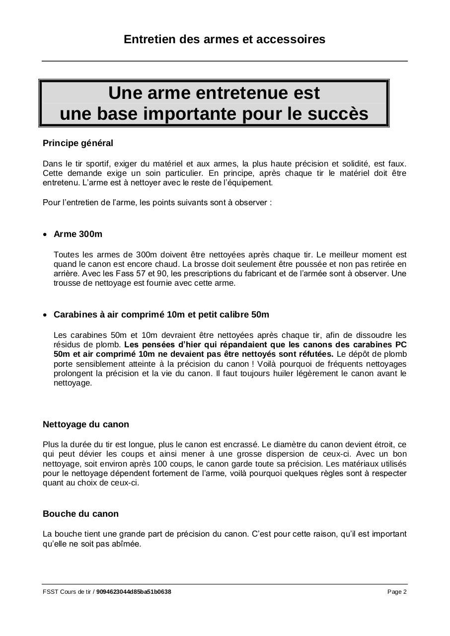 Aperçu du fichier PDF 10-entretien-des-armes-et-accessoires-1.pdf - Page 2/11