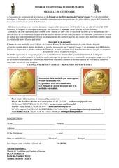 medaille ronarc h