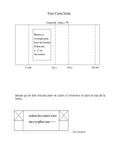 Fichier PDF tuto carte boete