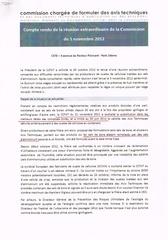 compte rendu ccfat du 5 novembre 2012