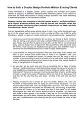 Fichier PDF how to build a graphic design portfolio