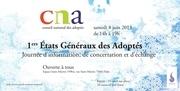 1ers etats generaux des adoptes samedi 8 juin 2013 flyer officiel