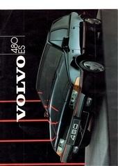 Fichier PDF brochure volvo 480 es 1986