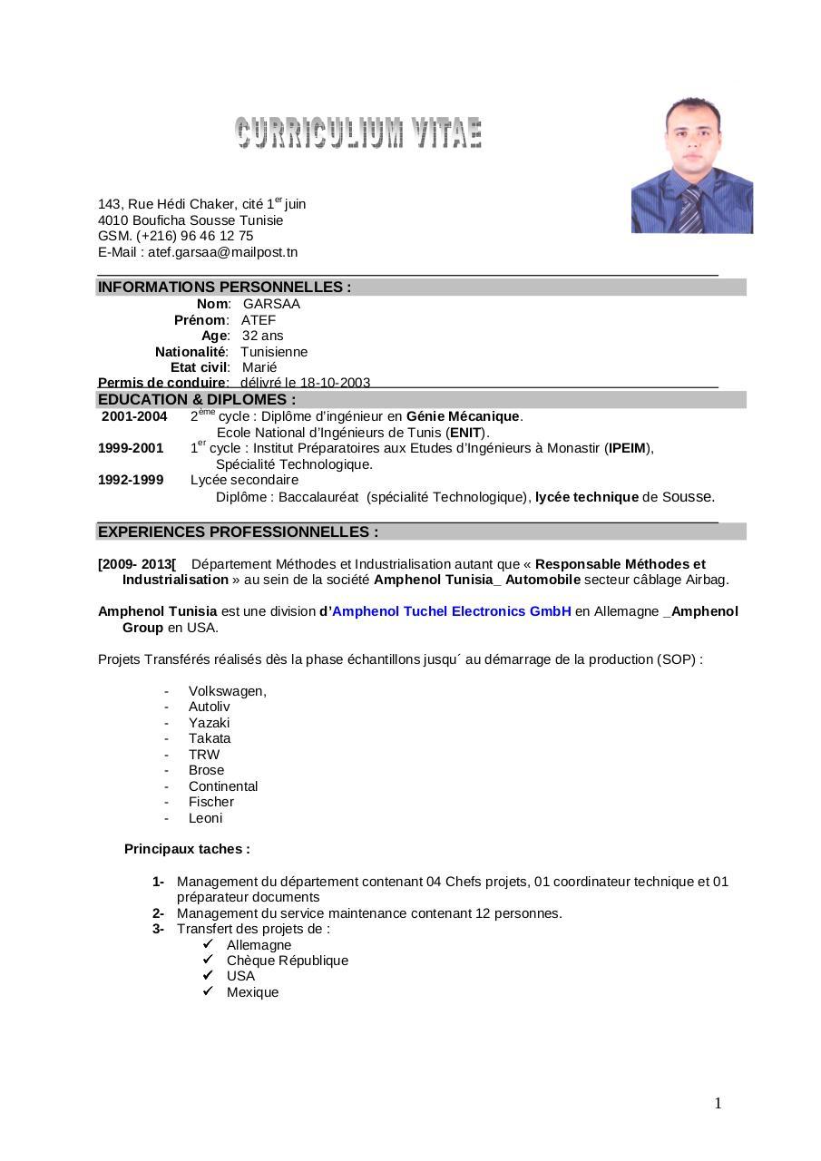 cv respach - page 1  1