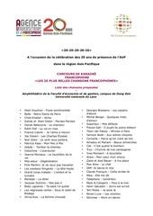 Fichier PDF liste chansons concours karaoke 2013
