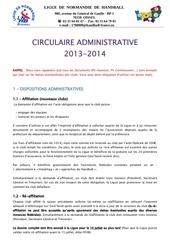 0 circulaire administrative