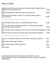 Fichier PDF menu 31