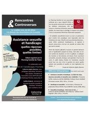 debat assistance sexuelle et handicaps 9 juillet 2013