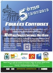 flyer foulees contoises 2013 recto