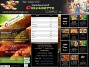 menu o brochette
