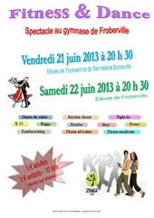 affiche spectacle 2013