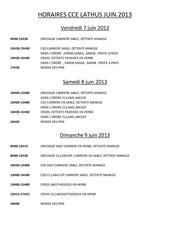 horaires generals cce lathus juin 2013