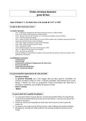 fiche revision bac histoire pdf