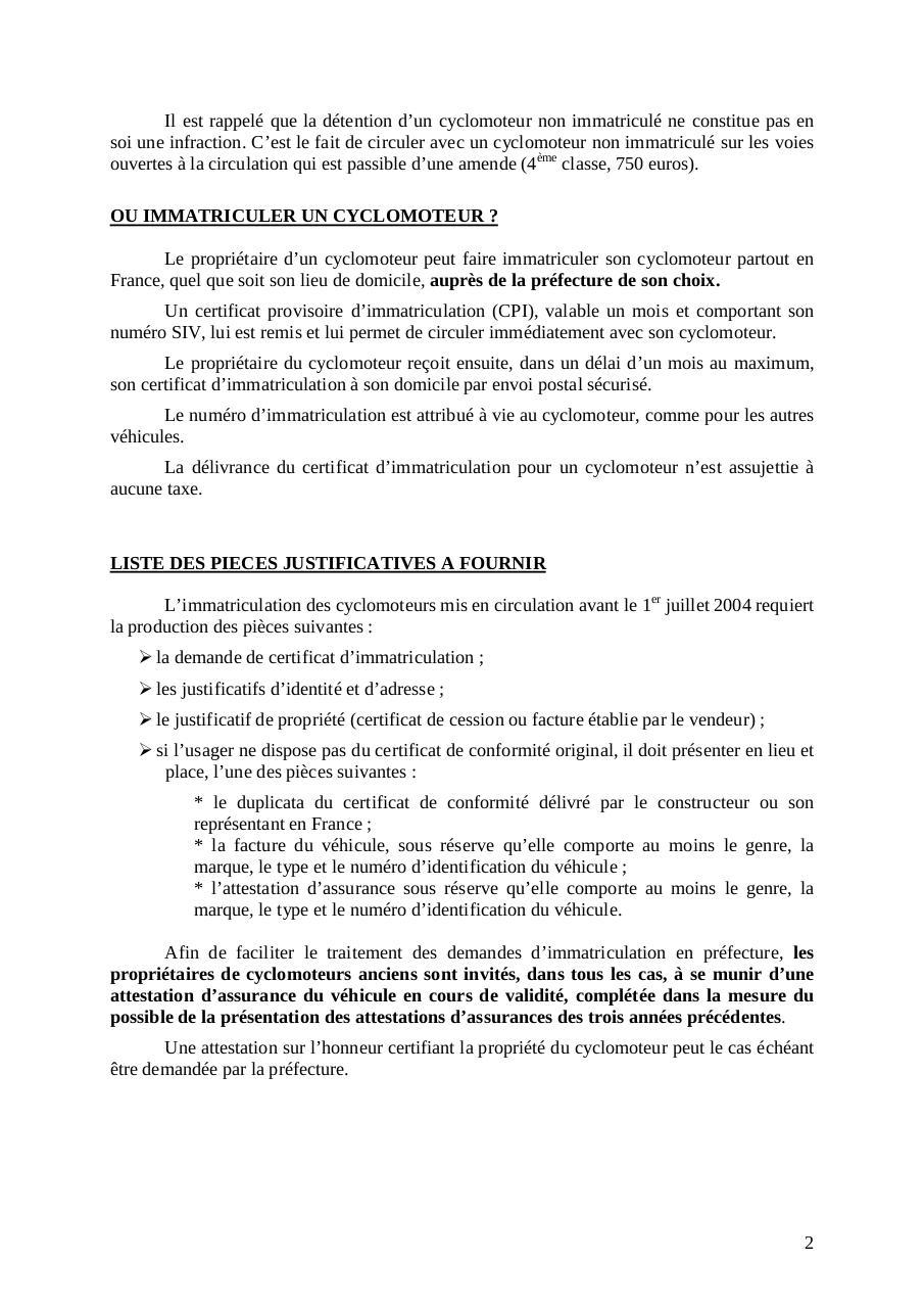 Communique Presse Siv Cylomoteurs Par Ministere De L Interieur