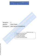 droit public guennouni www cours fsjes blogspot com