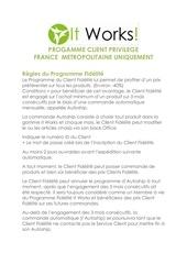 progamme client privileg1