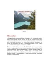 Fichier PDF cote sombre cote brillant
