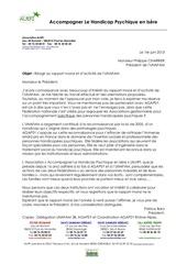 alphi unafam lettre de mr barro