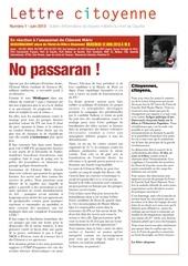 Fichier PDF lettre citoyenne n 1