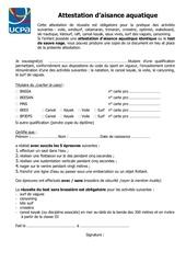 attestation daisance aquatiquee12 lv v5