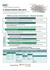 brochure observatoiredesprix provigis 2013 v2