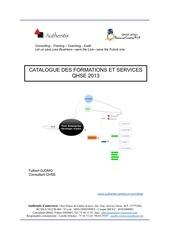 catalogue qhse authentis cameroun 2013