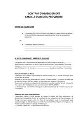 contrat fa modifie le 01 06 2013
