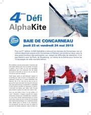 defi alphakite 2013