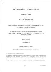 Fichier PDF sujet bac 2013 sti2d stl polynesie