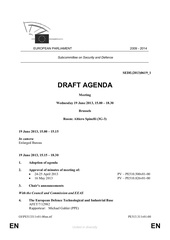 ordre du jour parlement