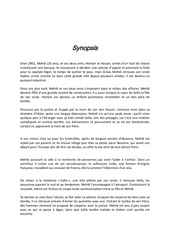 synopsis entave 1