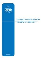 dossier presse cftc conference sociale 20 21juin2013