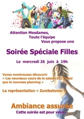 soiree filles 2013