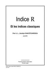 l indice r