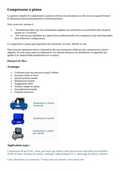 compresseur a piston