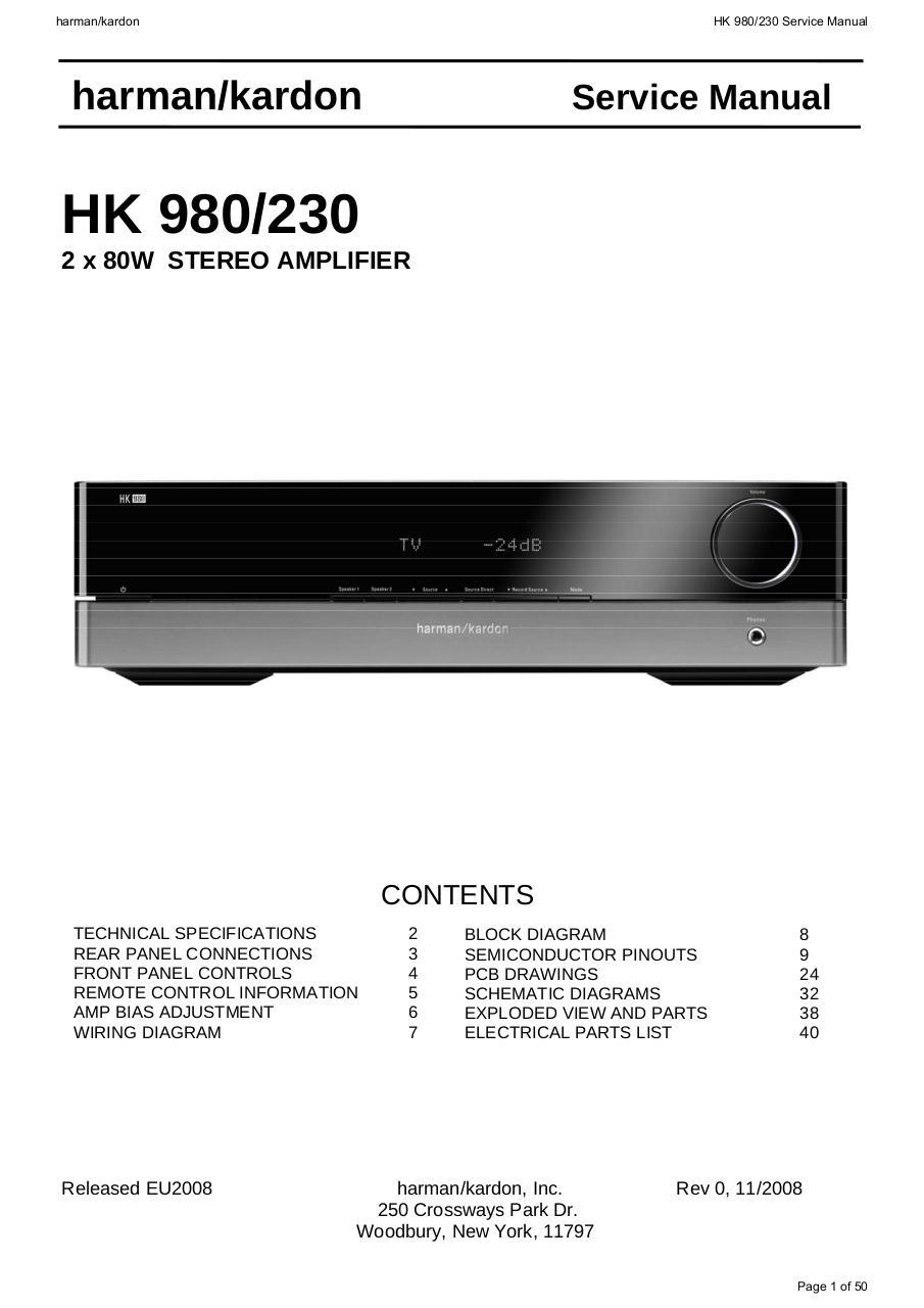 Recherche Pdf Ecu Bosch Edc15p Wiring Diagramqecu Panel Breaker Box Diagram View 25 Harmankardon Hk980 230 Amp Harman Kardon Hk 980 Service Manual 2 X 80w Stereo Amplifier Contents Technical